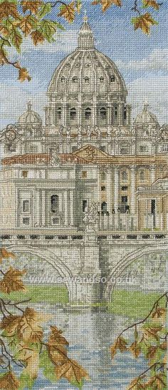 St Peter's Basilica http://www.sewandso.co.uk/Products/St-Peters-Basilica-Cross-Stitch-Kit__ANC-PCE0815.aspx