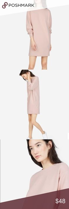Everlane SOLD OUT Classic French Terry dress Size medium 34b9b40f01a4e
