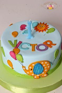 Torturi - Viorica's cakes: Elefantelul lui Victor Pumpkin Dessert, Pumpkin Cheesecake, Fondant, Elephant Cakes, Baby Shower Cakes For Boys, Tiramisu Cake, Chocolate Chip Recipes, No Cook Desserts, Mint Chocolate