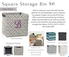 Shop for Thirty-One Home Organizing items: www.buymybags.com  Melissa Fietsam, Ind. Senior Executive Director at Thirty-One Gifts  #31 #31bag #31bags #Home #ShopThirtyOne #FindAConsultant #JoinThirtyOne #YourWayRectangle #Bins #Storage #YourWayCube #SquareUtilityBin #PersonalizedPillows #YourWayBin #OhSnapBin #FoldNFile #CatchAllBin #OhSnapPocket #Basket