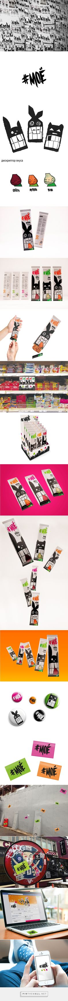 МОЁ упаковка для овощных батончиков on Behance Your daily packaging smile : ) Weird creatures you might turn into if you are hungry curated by Packaging Diva PD.