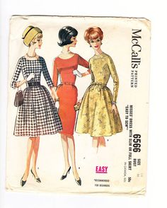 Classic Sixties Fashion Dress in Six Styles by OldSoulVintageltd