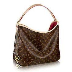 c0445877a2f1 Luxury Replica Louis Vuitton Monogram Canvas Delightful MM M50157 Pivoine  Women s Handbags