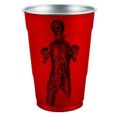 """A """"Solo"""" Cup...I don't know whether to groan, laugh, or demand they take my money..."""