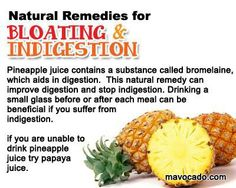 Natural remedies for boosting & indigestion