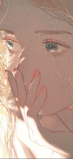 Whats Wallpaper, Kawaii Wallpaper, Wallpaper Art, Anime Art Girl, Manga Art, Animes Wallpapers, Cute Wallpapers, Pretty Art, Cute Art