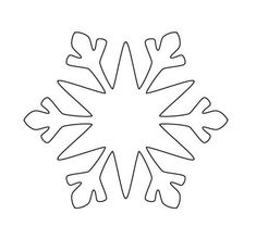 Snowflakes looks charming to not only kids but adults also love them. Paper Snowflake Patterns, 3d Paper Snowflakes, Snowflake Template, Snowflake Decorations, Simple Snowflake, Label Templates, Printable Labels, Kirigami, Xmas