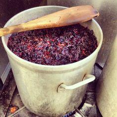 "hibiscus tea, #jamaica .................. #GlobeTripper® | https://www.globe-tripper.com | ""Home-made Hospitality"""