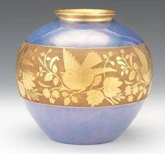 favorit crystalglass, beauti bird, porcelain paintingpl, bavarian china, bird piec