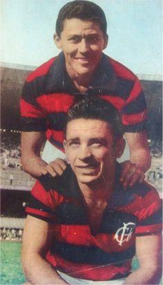 Flamengo - 1961. Dequinha e Babá.
