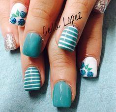 Acrylic nails by Celia López