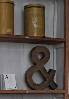 & on a shelf