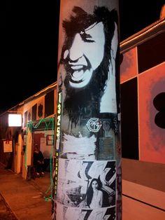 Smile.  Street art in FAT Village, Fort Lauderdale