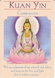Kuan Yin: Compassion Goddess Guidance Oracle Deck Doreen Virtue