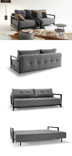 Schlichtes Schlafsofa in 9 verschiedenen Farben erhältlich #sofa - waschbecken design flugelform