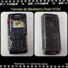 Carcasa de blackberry 9100