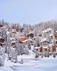 Winter wonderland in the Swiss alps Switzerland Destinations, Ski Slopes, Swiss Alps, Train Rides, Winter Travel, Nature Photos, Winter Wonderland, Skiing, Nature Photography