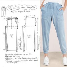 1 – – Sport – Home crafts Sewing Pants, Sewing Clothes, Barbie Clothes, Barbie Barbie, Dress Sewing Patterns, Clothing Patterns, Shirt Patterns, Coat Patterns, Fashion Sewing
