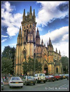 Iglesia de Nuestra Senora de Lourdes. Bogota, Colombia