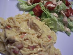Chicken Spaghetti Casserole....yum! yum!