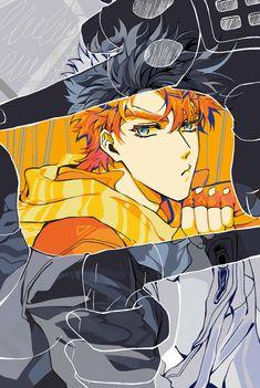 Jojo's Bizarre Adventure, Jojo's Adventure, Jojo Part 2, Manga Anime, Anime Art, Joseph Joestar, Gurren, Jojo Memes, Otaku