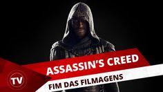 FIM DAS FILMAGENS DE ASSASSIN'S CREED