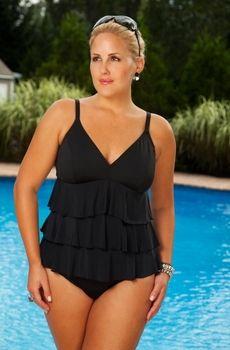 suit bathing in Full woman figure
