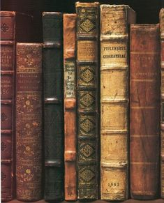 old leather-bound books. Inspiration for book lovers and book worms. Books Decor, Books Art, Old Books, Library Books, Antique Books, Reading Books, I Love Books, Books To Read, Leather Bound Books