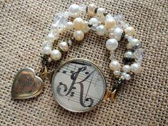 Vintage Jewelry - Pink Eyed Sissies Handmade Upcycled Vintage Jewelry