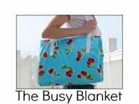 the busy blanket--very cool activity blanket