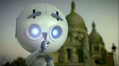 The World's Saddest Robot Looks For A Friend In Post-Apocalyptic Paris