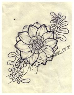 Daisy drawing on pinterest nature drawing simple doodles and easy tatto flower drawings flower line drawing by northgeorgiatattoos on deviantart mightylinksfo Image collections