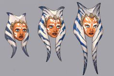 Exclusive: 'Star Wars Rebels' concept art brings Ahsoka and Leia to life