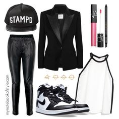 BTS's V Danger MV inspired by look (I) by mynotebookofstyle on Polyvore featuring MANGO, Pierre Balmain, Joseph, NIKE, Charlotte Russe, Stampd, Gucci, NARS Cosmetics, bts and BangtanBoys
