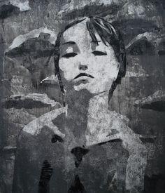Die Laufkatze Leben (Acryl auf HDF, 58 x 50 cm)