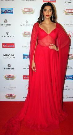 Sonam Kapoor at Hello! Hall of Fame awards 2016