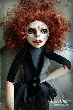 art doll MACOCHA HorkaDolls