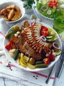 Az otthon ízei: Cigánypecsenye Bacon, Favorite Recipes, Meals, Dishes, Chicken, Food, Meal, Tablewares, Essen