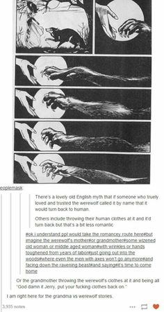 Werewolf Legend. Language terrible, but idea is terrific!!!