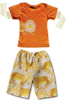 Zebi Baby Lion Tee & Lounge Pants