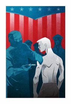 Artista cria imagens que mostram a origem de Heróis e Vilões ~ SuperVault