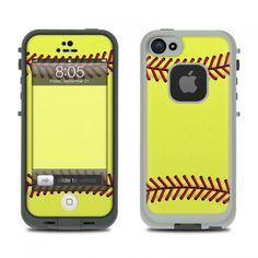 Softball LifeProof iPhone 5 Skin