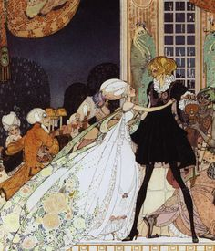 The Twelve Dancing Princesses illustrated by Kay Neilsen
