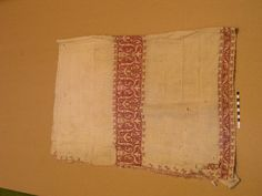 16th century embroidered linen, believed to be Italian. At Belton House, Lincolnshire.