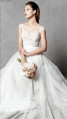 Wedding dress by Watters Brides Farah Gown Style