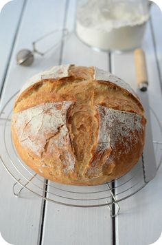 Pains – Page 3 – Paprikas Cooking Bread, Bread Baking, Pan Focaccia, My Recipes, Cooking Recipes, Low Carb Bread, Food Categories, Bakery, Good Food