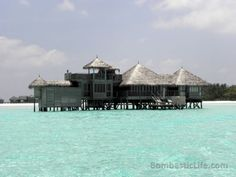 Crusoe Residence at Soneva Gili by Six Senses in the Maldives.