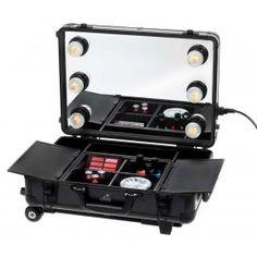Mini Studio ToGo Makeup Case with Lights - Black $200
