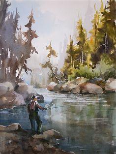 watercolors by Willard