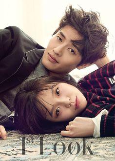 Kang Ha Neul & Lee Som for Look Magazine Vol.